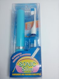 Electric Sonic Toothbrush fashion design competitive price battery powered electric toothbrush