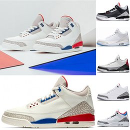 New arrival International Flight Tinker NRG Tinker Hatfield men basketball shoes white black red cement Mens Sports shoes Sneakers us 7-13