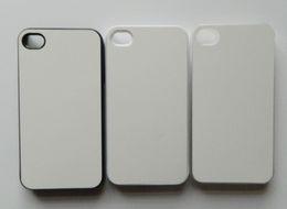 custom photos For iPhone 4 4S Sublimation hot transfer print phone case + blank aluminium sheets insert free shipping DHL Fedex