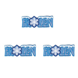 Factory outlet SNOWFLAKE Iron On Christmas gift Embroidered Applique Patch  Snowman Winter Games DIY Clothing patch