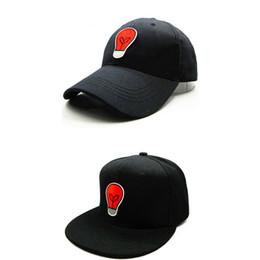 LDSLYJR 2018 light bulb embroidery cotton Baseball Cap hip-hop cap Adjustable Snapback Hats for kids and adult size 30
