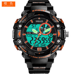 2018 Sports Watches Men S Shock LED Digital Military Watches G Style 50m Waterproof Wristwatch 1379 montre homme Military Watch