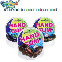 Clay Thinking Putty Intelligent Creative Hand Gum Slime Malleble Fimo FUN Magnetic dough Modeling gifts Novelty Toys Rubber Plasticine Mud
