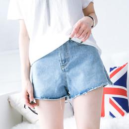 2018 summer new style Marmalade girl XT3066-1151 fashion casual loose high waist denim shorts