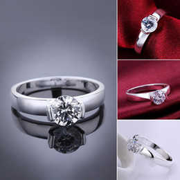Silver plated new design finger ring for lady (LKNSPCR603)