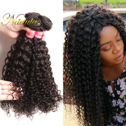 Nadula Indian Curly Hair Bundles 4 Bundles Human Virgin Hair Extensions Natural Color Human Hair Weave Wefts Wholesale Cheap