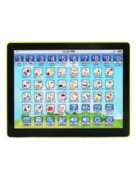 children learning tablet language in Arabic and English version PAD mini early learning machine