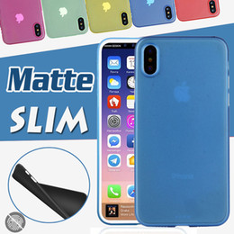0.3mm Candy Color Ultra Thin Colorful Matte Frosted Transparent Crsytal Soft PP Cover Back Case For iPhone 11 Pro Max XS XR X 8 7 6 6S Plus