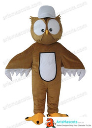 adults owl mascot costume Outfits Custom Animal Mascots for Advertising Team Mascot Character Design Deguisement Mascotte Quality Mascot Mak