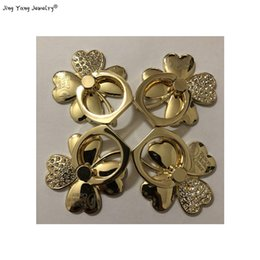 Jewelry Accessories Clover Metal Ring Buckle