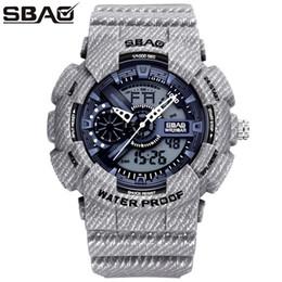 SBAO Cowboy Sport Watch Boy Military Watches Big Dial Digital Watch Multi-Function LED Clock Men's Watch Men Relogio Masculino