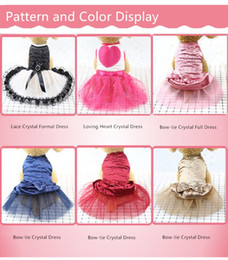 Dog Dresses for Puppy Summer in Low Price Wedding Yellow Chihuahua Wholesaling Dog Dress Pink Tutu Dresses Medium Birthday Wedding
