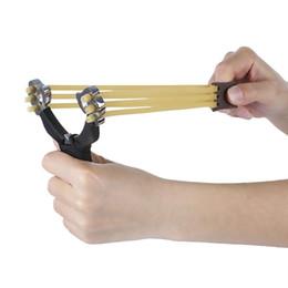 Powerful Slingshot Rubber Bands Wrist Catapult Hunting Equipment Folding Wrist Sling Shot Slingshot Hunting Stainless Steel Slingshot