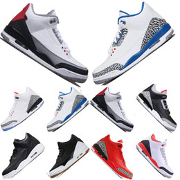 Brand 3s Mocha mens basketball shoes black white cement Free Throw Line JTH NRG Tinker Hartfield Seoul Pure Sports Trainers designer sneaker