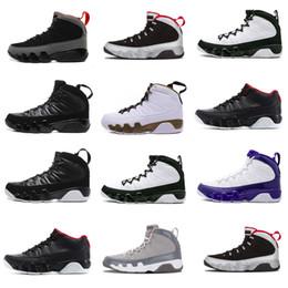 2018 Men Basketball Shoes 9 Paris nyc Chi Rio La Hornets City Pack Vivid Pink Sneakers Sport Shoes size 8-13