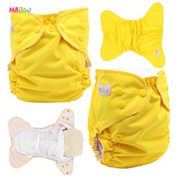 MABOJ Pocket Cloth Diapers with Insert Size One Diapers Waterproof Washable Diapers for Babies 3-15kg