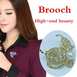45*45 mm Elegant butterfly brooch pin crystal dress jewelry clothing accessories jewelry jewelry brooch wedding