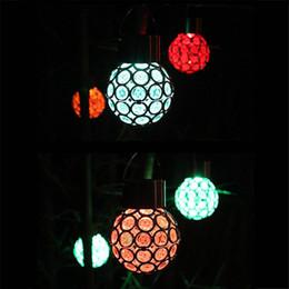 Color Changing Solar Powered Lantern Lawn Lights Patio Walkway Lights Eye Solar Hanging Light pathway Lights Wired Slar Led