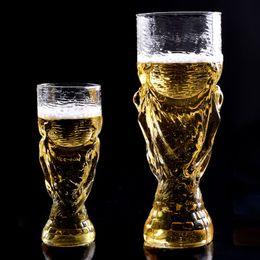 12 oz bear cup 2018 world cup football fans gift glasses cup heat resisting championship trophy 350ml bar bear mug