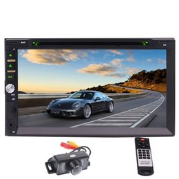 "EinCar 7"" Touchscreen In-dash Double Din Car DVD Player Stereo Wireless Bluetooth Music DVD CD MP3 FM AM Radio Receiver SD USB NO-GPS"