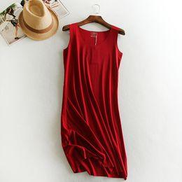 Women Summer Fashion Sling Dress Casual Large Size Loose Dress