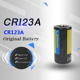 Original imported genuine CR123A CH17345 3V camera instrument battery flashlight battery super capacity safe, stable and green