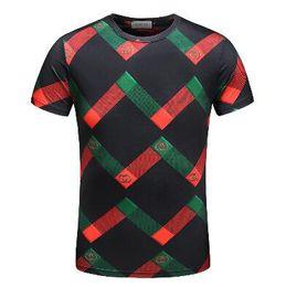 2018 Men's Spring Summer Casual Business T-shirt Classic Shirt Men's Shirt Classic Men's T-Shirt Trend T-Shirt 212960