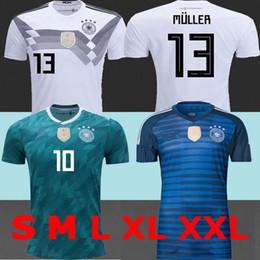 TOP best 2018 Deutschland Goalkeeper Germany Soccer Jerseys home Hummels MULLER Alemanha soccer shirt OZIL KROOS GOTZE Football uniforms