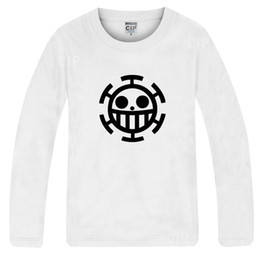 Free shipping hot sale One Piece Anime T-Shirt trafalgar law one piece t shirt anime tees 100% cotton 6 color