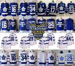 2018 stadium series Toronto Maple Leafs 16 Mitch Marner 34 Auston Matthews 44 Morgan Rielly 31 Frederik Andersen 29 William Nylander Jersey