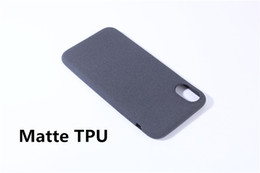 Ultra-thin Matte TPU Silicone Case for iPhone 5 5S SE 6 6S 7 8 X Plush hand paint