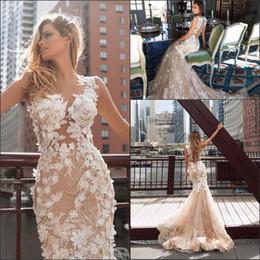 Capped Sleeve Mermaid Wedding Dresses 2018 New Vintage Lace with Appliques Court Train Summer Beach Bridal Gowns Vestido De Novia Custom