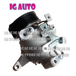 HIGH QUALITY NEW DKV10Z AC COMPRESSOR WITH CLUTCH 7GROOVES OR 6 GROOVES FOR CAR FORESTER IMPREZA 73111FJ000 Z0021226B