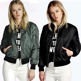 The new women's European winter fashion color explosion zipper collar women coat jacket