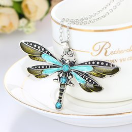 Sweater chain dragonfly creative necklace explosion style accessory sweater chain