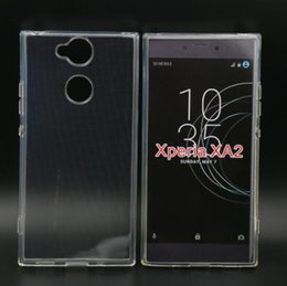 For SONY Xperia XA2 Transparent Skin Crystal Clear Soft Gel TPU Silicon Case Cover For SONY Xperia XA2 Phone Cases