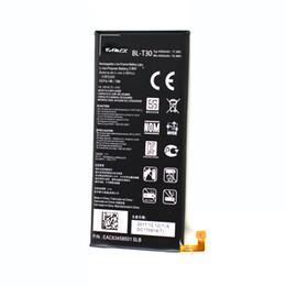 BL-T30 Replacement Battery For LG X Power 2 M320 M320N M322   Fiesta 2 LTE L163BL 4500mAh akku dhl ddp freeshipping