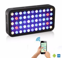 Wholesale-2015 HOT WIFI 165w led aquarium light Dimmable for coral reef fish Full Spectrum marine aquarium led lamp China USA DE stock