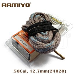 Armiyo Bore Snake Hoppe's 9 Boresnake .50Cal .54Cal 12.5mm Rifle Cleaning Kit Gun Barrel Cleaner 24020 Hunting Shooting Accessori