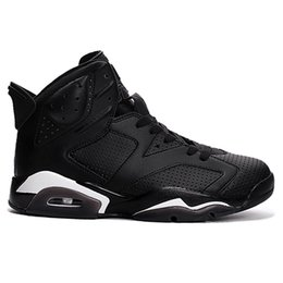 2018 Cheap 6 6s Negro Infrarrojo Oreo Black Cat Hombres Zapatillas de Baloncesto Hombre unc Olímpico CNY Blanco Infrarrojo Slam Dunk Sports Sneakers