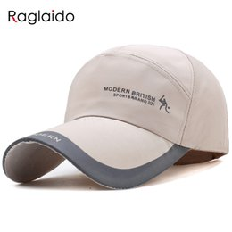Raglaido Hip Hop Cap Mens Snapback Baseball Hats Letter Cotton Caps Casual Golf sun hat Adjustable Size 55-60cm LQJ01407
