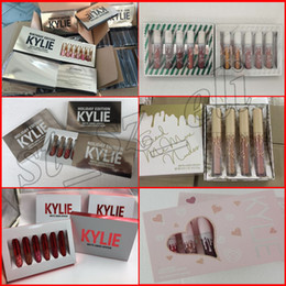 kylie jenner 6pcs set mini birthday edition collection i want it all valentine holiday 4pcs set send me more nudes sugar spice lip kit