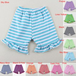 2017 Summer Pure color Baby Girl Cheap Ruffle Toddle Baby Shorts Boutique Bottoms Pant classical