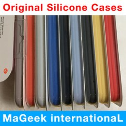 Official Original Silicone Case Liquid For Apple X case For iPhone 7 8 Plus Cover For iPhone 6 6S Plus logo Retail Box