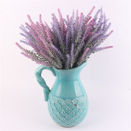 Free silk flowers samples free silk flowers samples suppliers and romantic provence decoration lavender flower silk artificial flowers grain decorative simulation of aquatic plants free shipping mightylinksfo