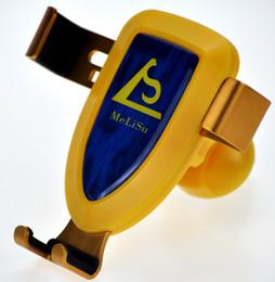 MeLiSu 2018 Stylish Mobile Phone Holder Gravity Motion Yellow From Manufacture