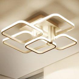 Nordic LED ceiling lights white coffee acrylic indoor lighting for dining room restaurant lighting modern new design LED ceiling lamps