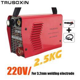 For 3.2MM Electrode 220V 2.5kg IGBT Inverter DC Hand Protable Welding Machine Welding Equipment Welder With Accessories