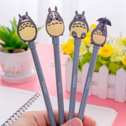 New 0.5mm Cute Kawaii Cartoon Totoro Gel pens Creative Korean Stationery For Kids Children Students Office School Supplies Marerials