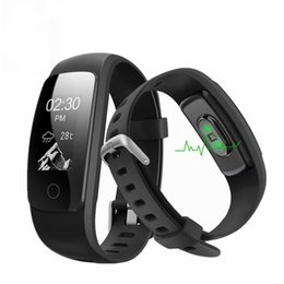 ID107 HR Plus GPS Smart Bracelet Heart Rate Monitor Pedometer Band Bluetooth Fitness Activity Sports Tracker Wristband For IOS Android Phone